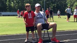Aaron Murray hosts youth football camp at Stratford Academy ...