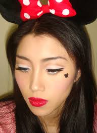 makeup ideas for minnie mouse costume