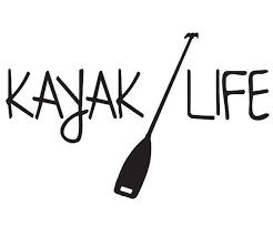 Kayak Life Vinyl Decal Sticker For Car Truck Laptop Mirror Glass Crafts Kayaking Kayak Stickers Vinyl Decals