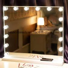 custom frameless vanity hollywood