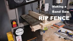 Build Making A Rip Fence For A Band Saw Youtube