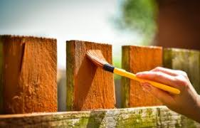 Can You Paint Your Fence When It Rains Amko Fence