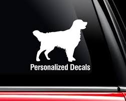 Labrador Vinyl Window Decals Make A Decal Online W Decal Etsy Dog Breed Decal Vinyl Window Decals Dog Decals