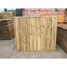 Heavy Duty Feather Edge Closeboard Fence Panel 6 X 5 Cleveland Timber
