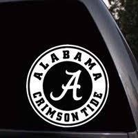 Alabama Crimson Tide Car Window Truck Laptop Die Cut Vi