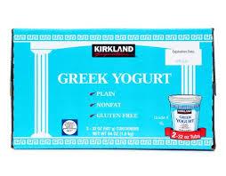 kirkland greek nonfat yogurt 2 x 32 oz