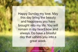 80 happy sunday wishes for friend