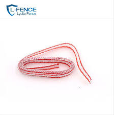 China Electric Fence Rope Polywire For Fence Post China Polywire Electric Fence And Electric Fence Wire Price