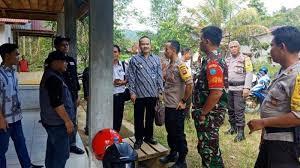 Kapolres Landak Tinjau Langsung Psl 2 Tps Di Desa Caokng Tribun Pontianak