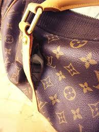 louis vuitton bag repair the leather