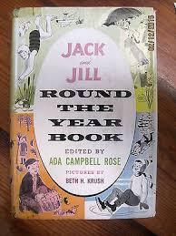 Ada Campbell Rose 1958   Jack, jill, Books, Vintage