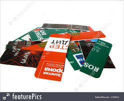 finance and currency credit card