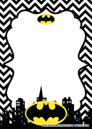Superhero Invitation Template Free Unique Superhero Template