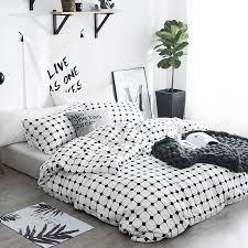 white plaid print modern chic