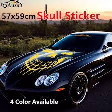 Universal Car Truck Skull Hood Decal Vinyl Large Graphic Sticker 57x59cm Graphic Sticker Skull Hood Decalhood Decal Aliexpress
