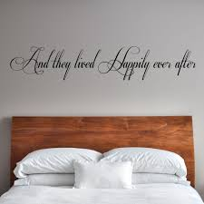 And They Lived Happily Ever After Wall Decal Graphic Decal The Walls