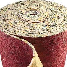pu foam luxury carpet underlay roll