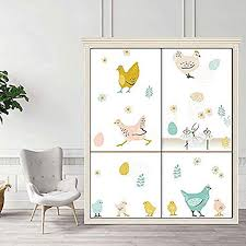 Amazon Com Children S Farm Animal Chick Wall Decals Wall Decoration Easy Peeling Farm Baby Kid Room Diy Wall Sticker Home Decor Kitchen Dining