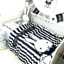 white modern crib bedding