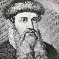 Quién inventó la imprenta? - Johann Gutenberg