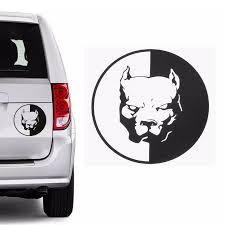 Car Sticker Waterproof Pitbull Dog Bulldog Reflective Sticker Car Stickers And Decals Car Decal Decoration Auto Car Accessories Car Stickers Aliexpress