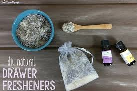 make your own natural drawer fresheners