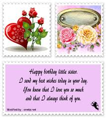 nice birthday texts for my sister who is away whatsapp birthday