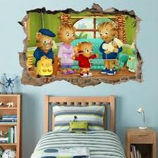 Daniel Tiger S Neighborhood Smashed Wall Decal Graphic Wall Sticker Art H406 Ebay