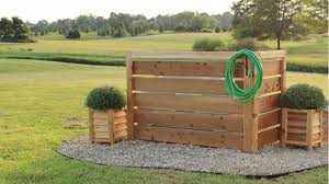 How To Hide An Outdoor Eye Sore In Your Yard No Digging Required