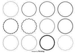 circle frame free vector art 41 408