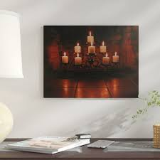 candles for fireplace wayfair