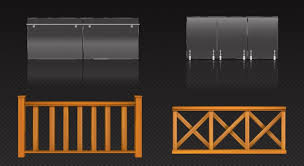 Free House Fence Vectors 1 000 Images In Ai Eps Format