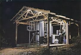 backyard wood powered generator