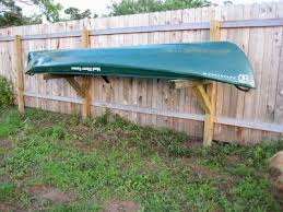 Privacy Fence Canoe Rack Kayak Storage Rack Canoe Rack Canoe Storage