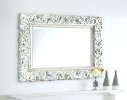 white baroque mirror style extra large