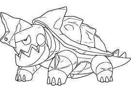 Kleurplaat Pokemon Sword En Shield Drednaw 15