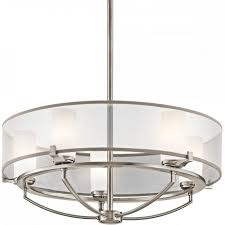 pewter drum pendant ceiling light bulbs