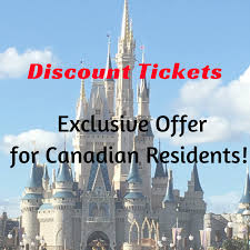 ed disney tickets for canadian