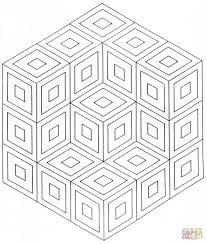 Kleur Geometrische Mandala Kleurplaat Gratis Kleurplaten Printen