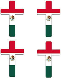 Rogue River Tactical Pack Of 4 Mexico Mexican Flag Auto Car Decal Bumper Sticker Truck Boat Rv Window 5x3 Inch Rectangle Bumper Stickers Decals Magnets Exterior Accessories