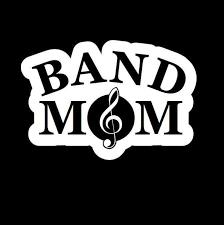 Band Mom Window Decal Sticker Custom Sticker Shop