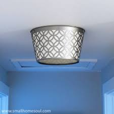 light makeover diy ceiling light
