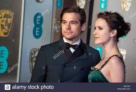 Jason Ralph and Rachel Brosnahan attends the EE British Academy ...
