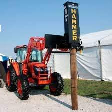 Hydraulic Post Driver 21006 21007 Danuser