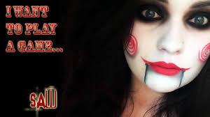 jigsaw saw halloween makeup