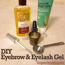 diy diy eyebrow eyelash gel