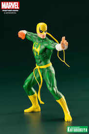 Marvel The Defenders Series Iron Fist Statue by Kotobukiya - The Toyark -  News