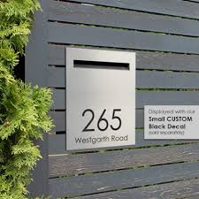 Rear Opening Picket Fence Letterbox Milkcan Outdoor Products