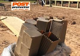 Post Protector 6x6 Fence Post Installation Cedar Fence Posts Post Frame Building