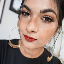 freckles makeup look makeupandbeauty